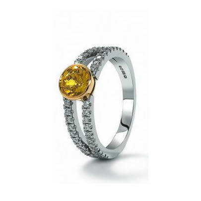 1883 Collection Yellow Sapphire & Diamonds