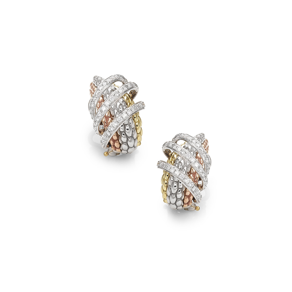 OR651 PAVE MIALUCE EARRINGS DIAMONDS 0.82CTS £5260