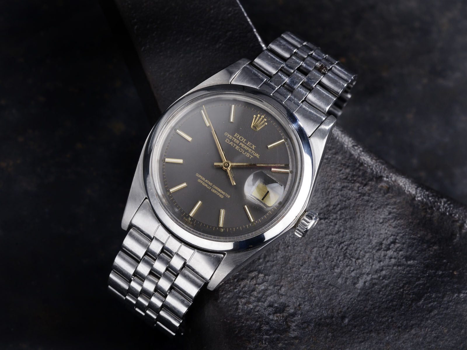 Steel Vinatge Datejust Bulang and Sons