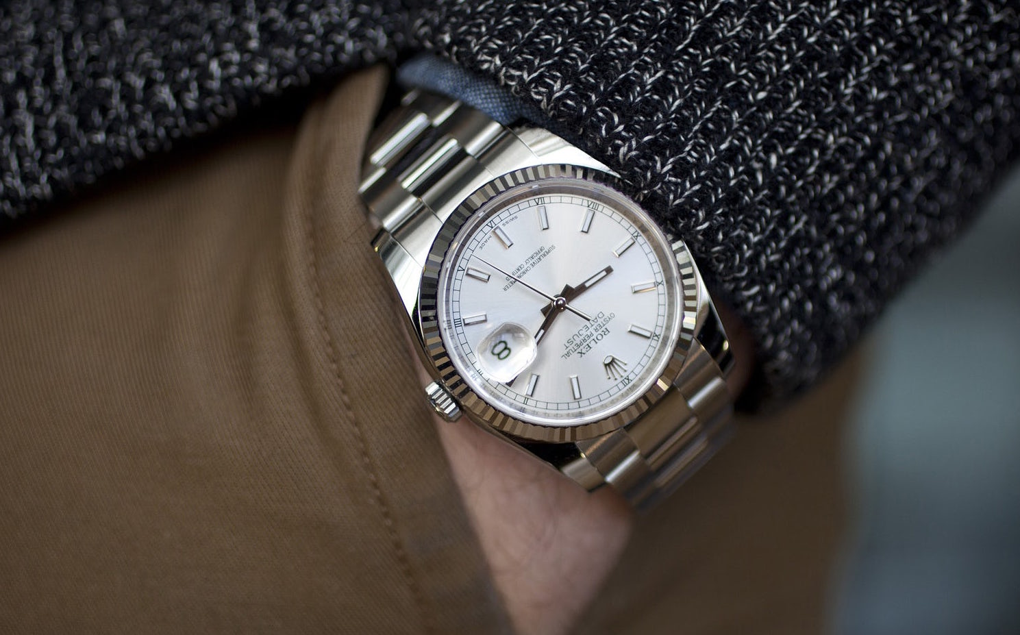 The Versatile Rolex Datejust Hodinkee